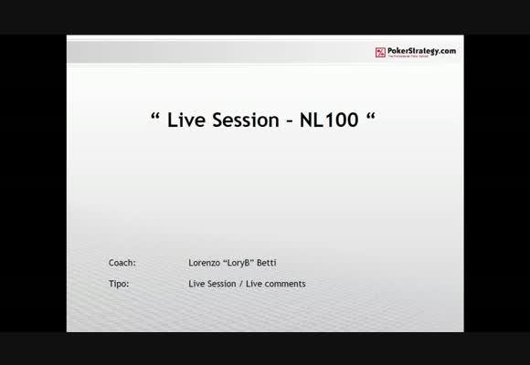 Live Session - NL100 su PokerStars.it - parte 1