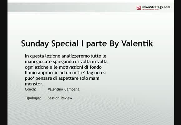 Sunday Special by Valentik - Prima parte
