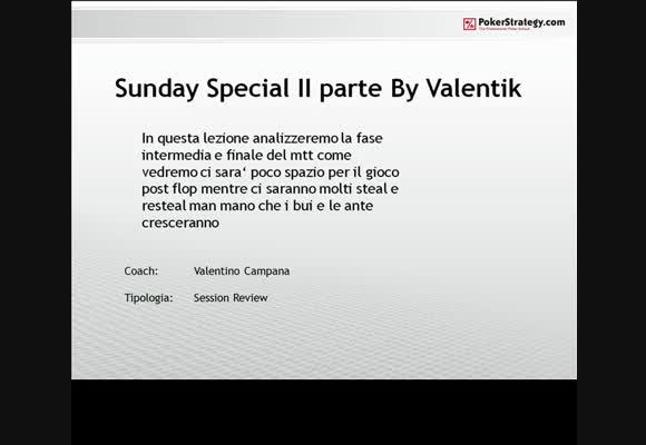 Sunday Special by Valentik - Seconda parte