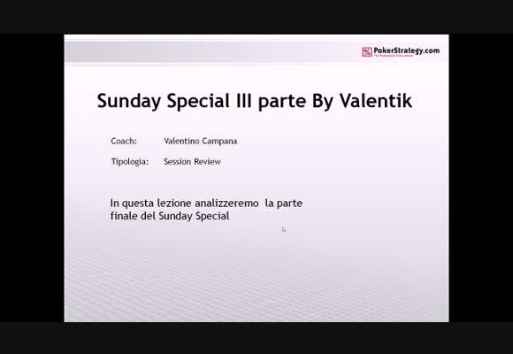 Sunday Special su Stars.it - Terza parte