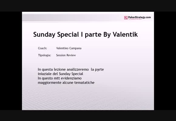 Sunday Special su Stars.it - Prima parte