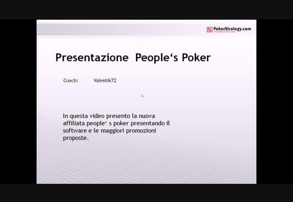 Presentazione ed analisi della room iGameLab.it di People's Poker