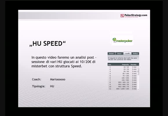 SnG HU - Session review tornei Speed