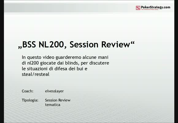 NL200SH Session Review Blinds - Parte 2