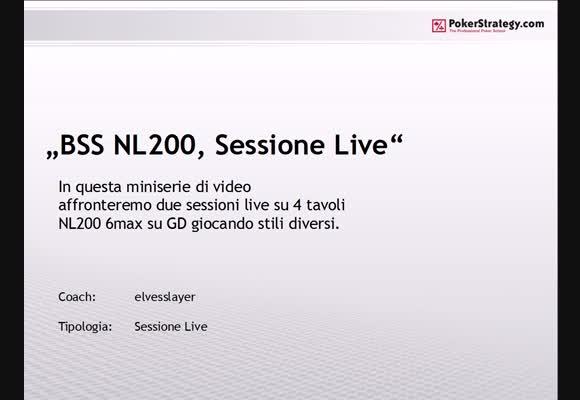 Sessione live - stili di gioco al NL200 di room parte 2/2
