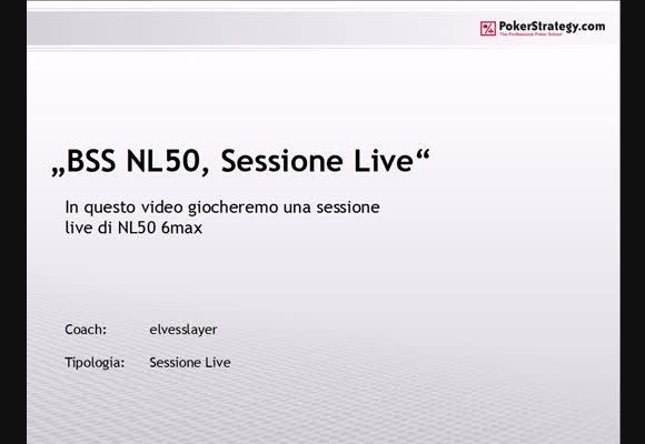 Sessione live - NL50 shorthanded su PokerClub