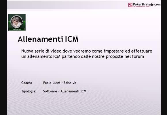 Allenamenti ICM 003 - Call da BB