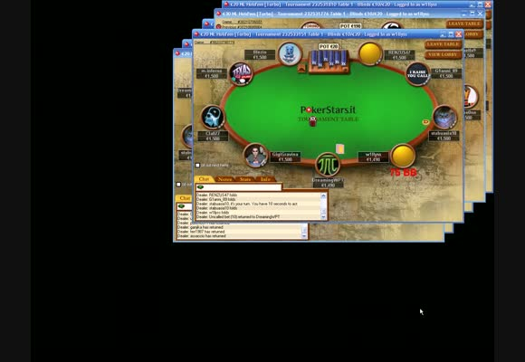 Live Session - SNG 20 Euro su PokerStars.it