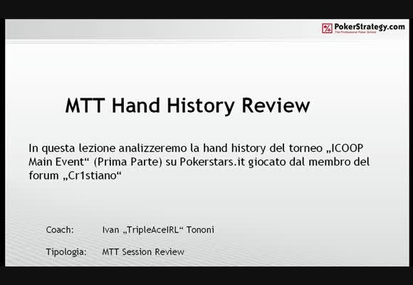 Session review: l'ICOOP di cr1st14n0 - Parte 1