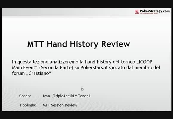 Session review: l'ICOOP di cr1st14n0 - Parte 2