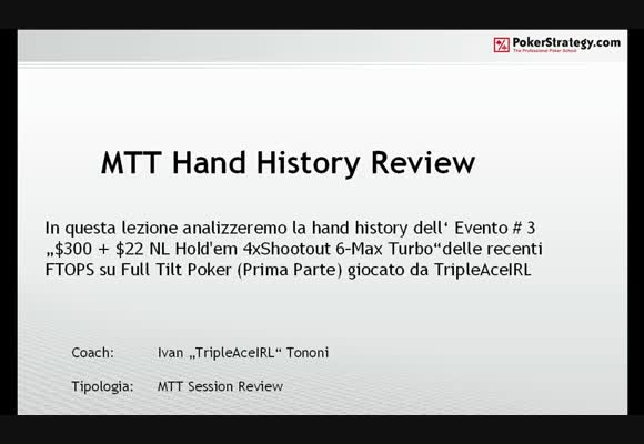 FTOPS Event #3 Session review - Parte 1