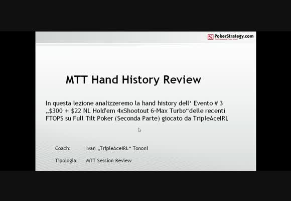 FTOPS Event #3 Session review - Parte 2