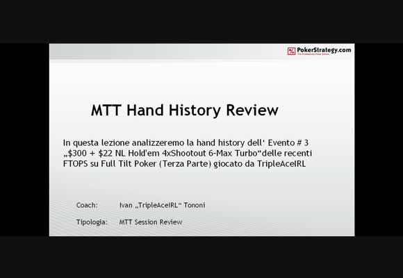 FTOPS Event #3 Session review - Parte 3