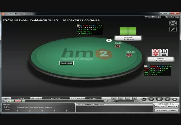 I piatti 3bettati al NL1k HU cash - parte 2