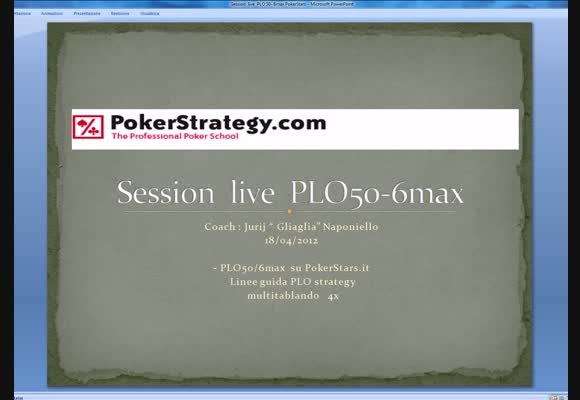 considerazioni ai tavoli PLO50 di PokerStars.it