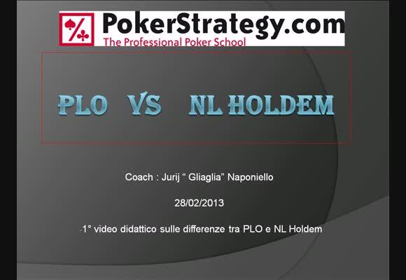 PLO vs NLH