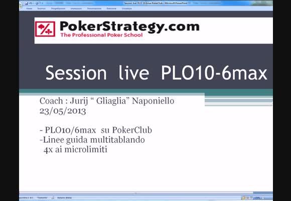 Live Session al PLO10