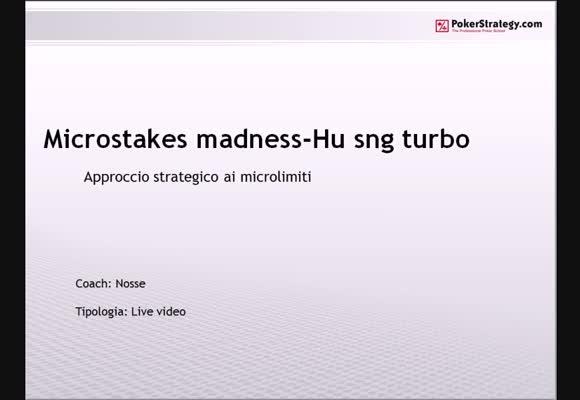 Microstakes madness - turbo
