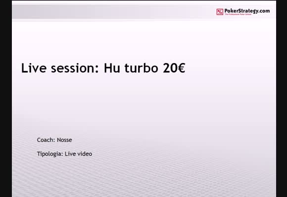 Live Session - Head's Up Turbo da €20