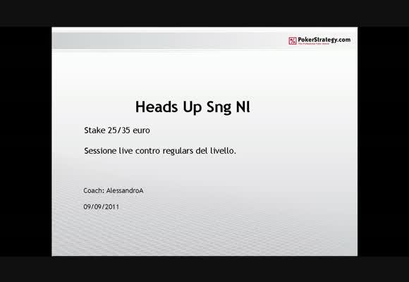 Sessione live - il gioco verso i regular buy-in €25 e €35