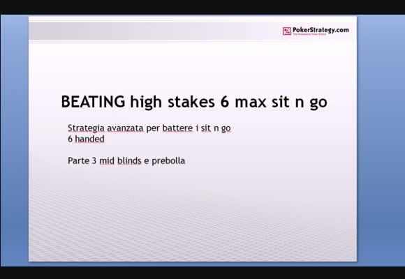 Session review High Stakes - strategia avanzata per battere i 6max parte 3