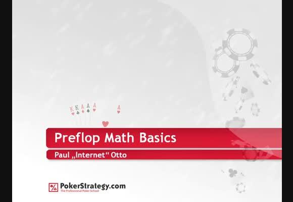 lnternet @ プリフロップの数学