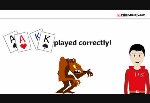 How to play AA & KK correctly