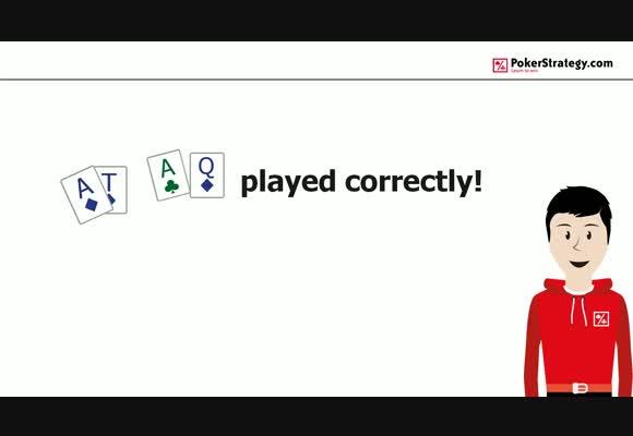 More than Top Pair: Play AT-AQ correctly