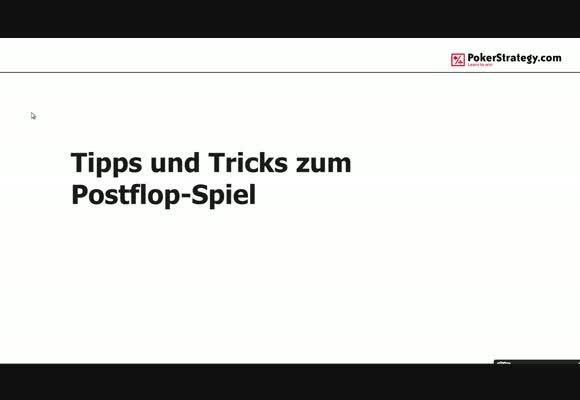 Siete777 - Tipps und Tricks zum Postflop-Spiel