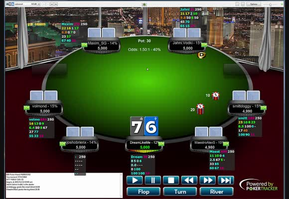 Deep run w turnieju za 55 $ na 888poker