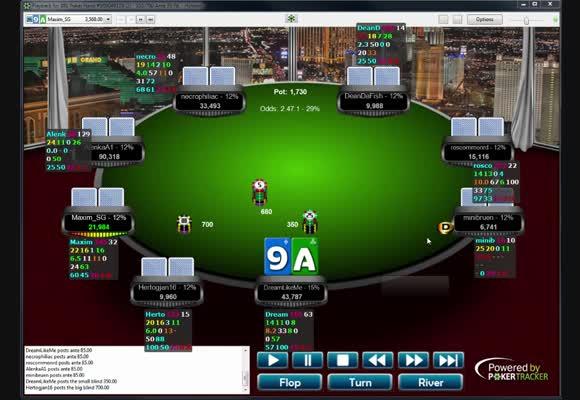 Deep run w turnieju za 55 $ na 888poker - część 2