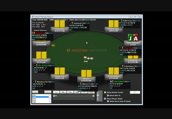 Daily Rebuy su Pokerstars - Hand Review completa - Parte 2