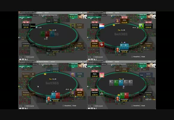 NL100 Live Play Review at bet365