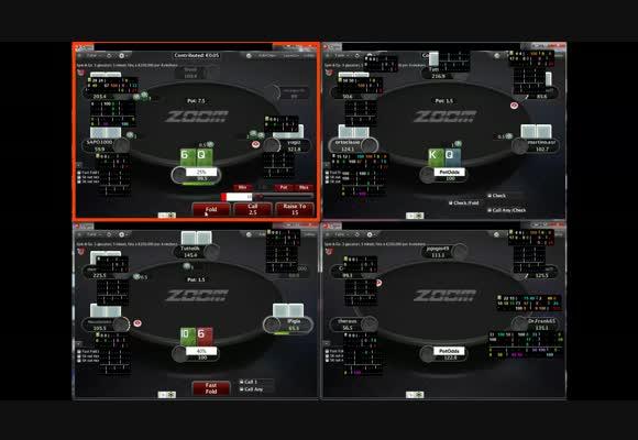 Il poker è sempre poker: NL10 Zoom