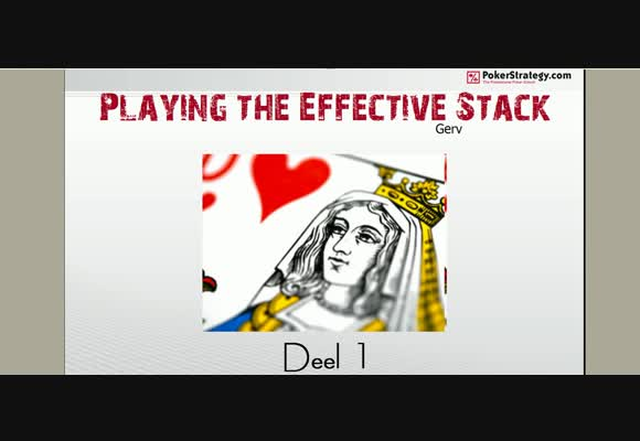 SSS NL2 playing the effective stack -1-