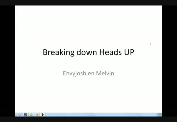 Breaking Down Heads-Up