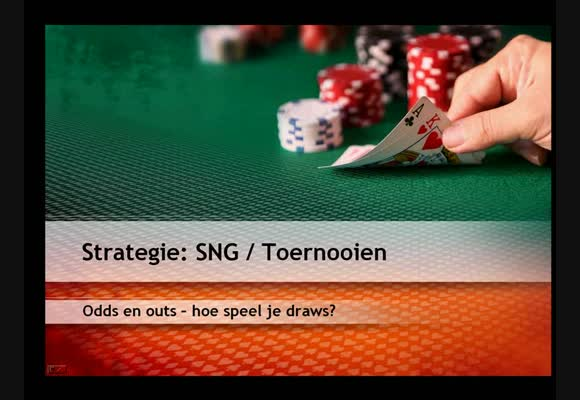 Strategie video : SnG/MTT odds and outs