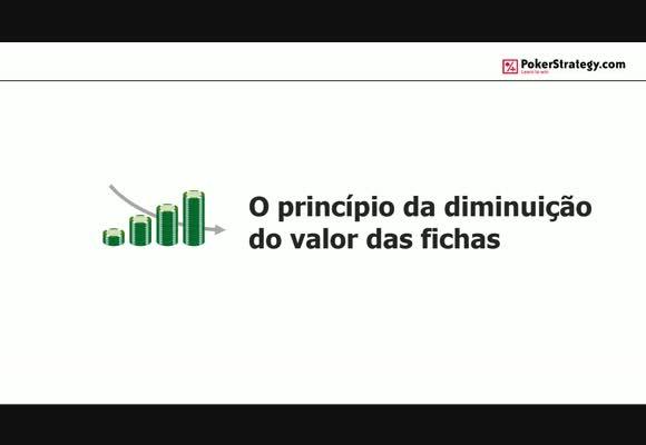 O Princípio da Diminuição do Valor das Fichas