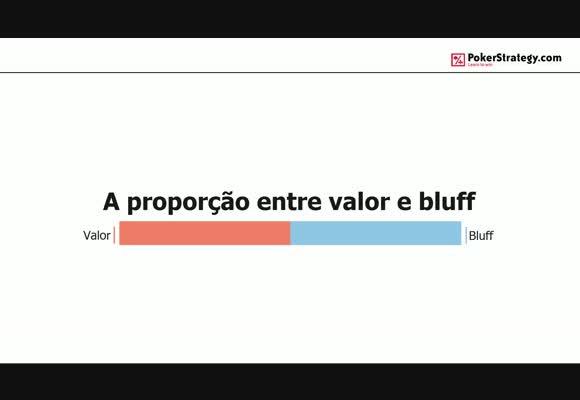 Proporção entre Valor e Bluff