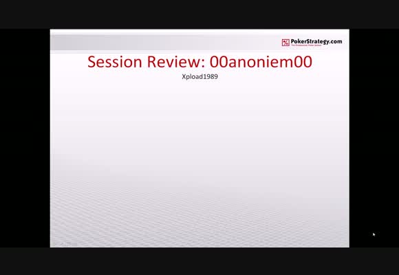 SSS -Session review 00anoniem00-