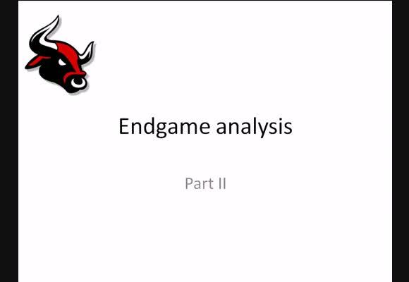 Endgame analyse II