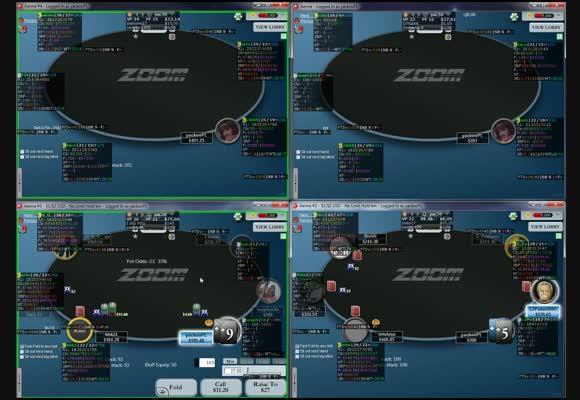 Sesja na 4 stolikach NL200 Zoom z yacem