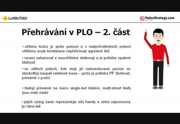 Přehrávání v PLO - 2. část