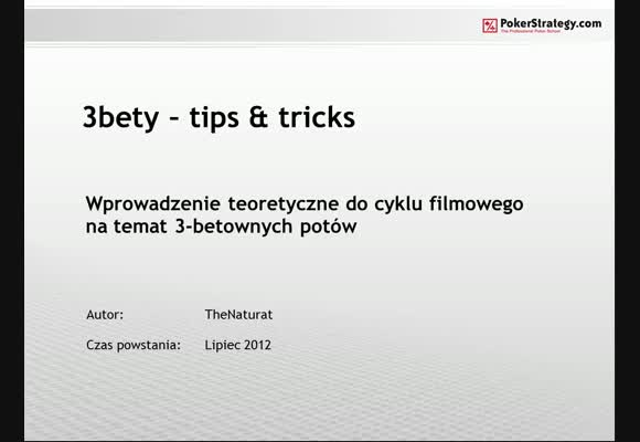 3-bety: tips & tricks - teoria - część 1