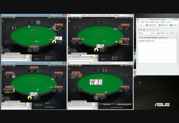 Poker jest prosty! - Robmaf gra NL25