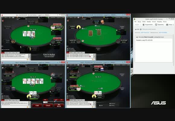Poker jest prosty! - Robmaf gra NL50