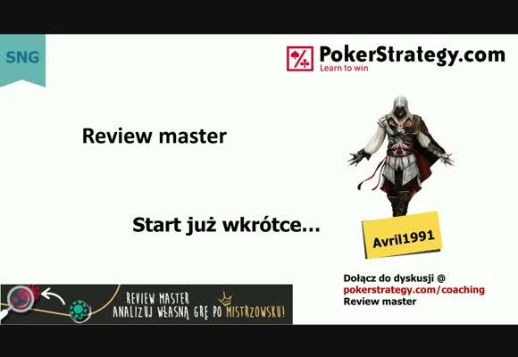 Review master - stolik finałowy oraz HU