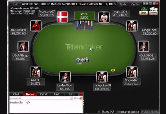 MTT $50 - $25K GP Rebuy - Parte 2 de 2