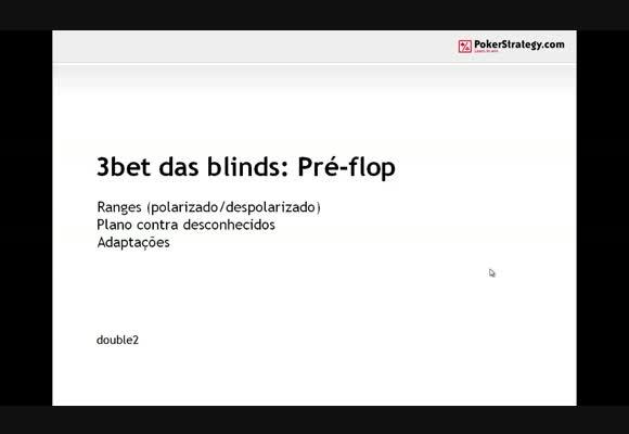 No Limit - 3bet da Blinds: Pré-Flop