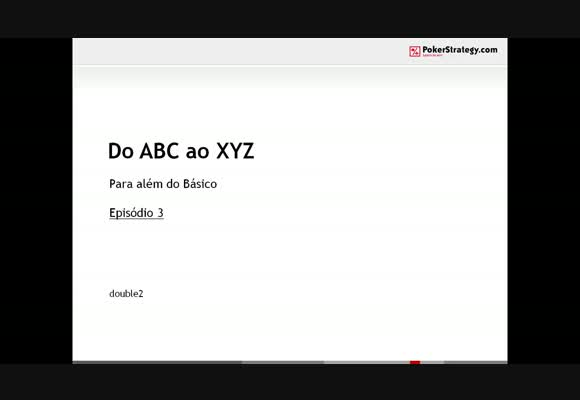 Do ABC ao XYZ - Parte III
